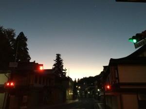 夜明けの高野山リベンジ3kmラン!高野山大門に到達!! [2015年晩秋の旅 旅行記 その4]