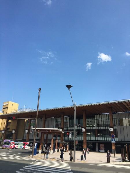 旅の終わり 大町〜長野市を経て 東京へ帰還  [2016年4月 長野旅行記 37]