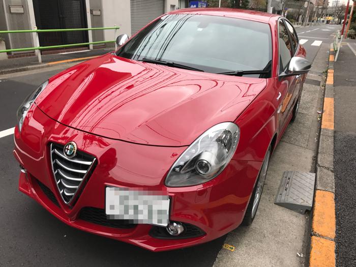 アルファロメオ ジュリエッタ スポルティーバ ABA-940141 〜 47歳にして初めて自動車を買いました!色はアルファレッド!! [自動車]