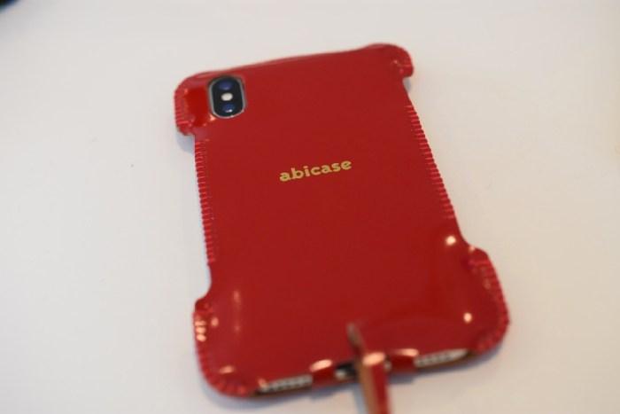 abicaseXWJ/iPhoneX用ウォレットジャケット カーマインレッドコードバン購入!iPhone X用レザーケースはこれ!! [iPhone]