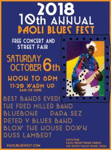 Paoli Blues Fest @ Paoli Presbyterian Church