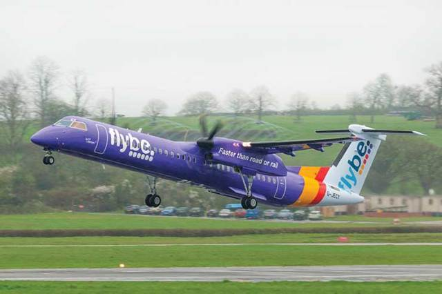 Moye Flybe Purple 95 - <div>Flybe: 'Crisis averted, problem created'</div>
