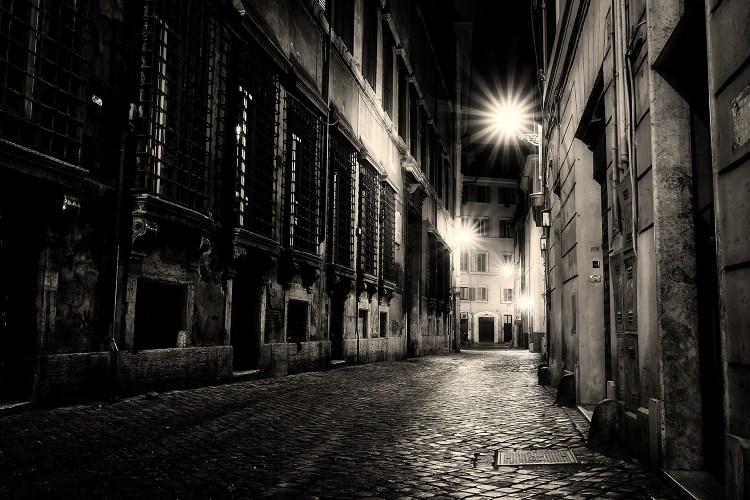 Rome.Street.Night