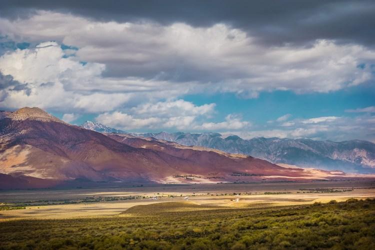 California Eastern Sierra Nevada Alien Landscape
