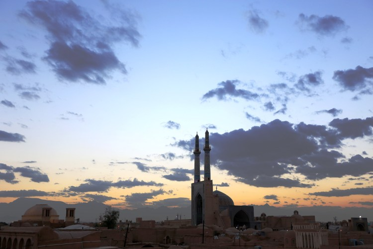 Evening in Yazd Iran