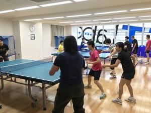 メキメキ上達する週2回の卓球教室
