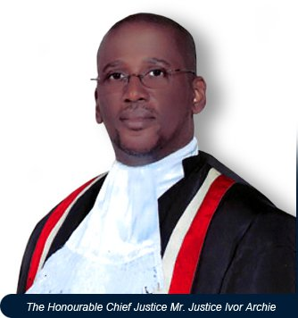 Honorable Chief Justice Ivor Archie