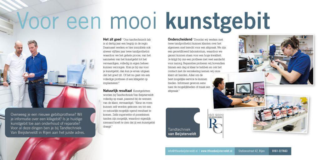 """Nu in """"BRUIST"""": Tandtechniek van Beijsterveldt"""
