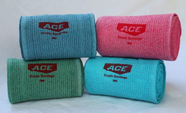 Coloured ace body wraps
