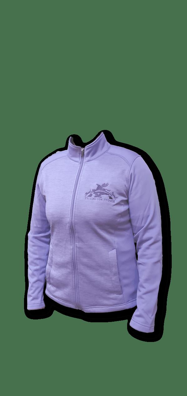 Purple poly jacket
