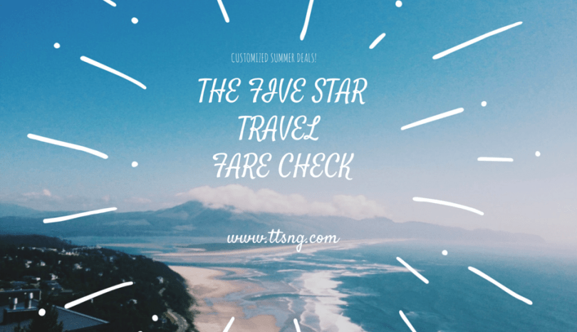 The Five Star Fare Check