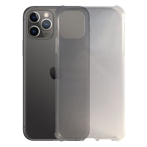 SALE Apple – iPhone 11 Pro Max – Schok bestendig – Siliconen hoesje – Transparant