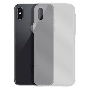 SALE Siliconen hoesje voor Apple iPhone X / XS – Transparant