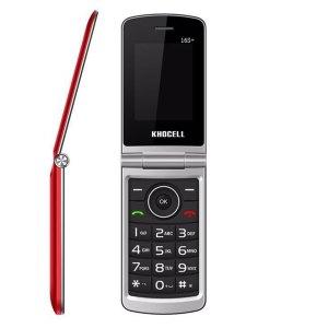 Khocell Telefoons Khocell – K16S+ – Mobiele telefoon – Met prepaid – Rood