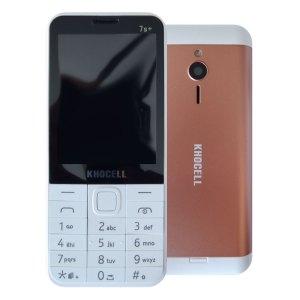 Khocell Telefoons Khocell – K7S+ – Mobiele telefoon – Met prepaid – Roze