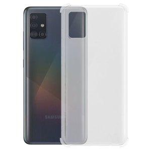 SALE Siliconen hoesje voor Samsung Galaxy A51 – Schok bestendig – Transparant