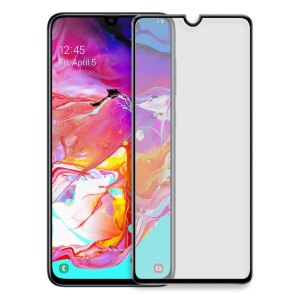 Samsung screenprotectors Samsung – Galaxy A70 – Full cover – Screenprotector – Zwart
