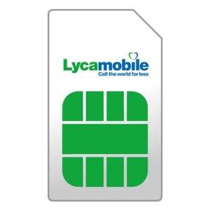 Simkaarten Lyca mobile – Prepaid – Simkaart