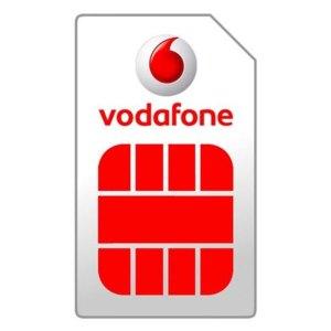 Simkaarten Vodafone – Prepaid – Simkaart