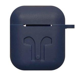 Earpod Hoesjes Case voor Airpod 1 / Airpod 2 – siliconen hoesje – Donker blauw