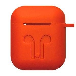Earpod Hoesjes Case voor Airpod 1 / Airpod 2 – siliconen hoesje – Rood