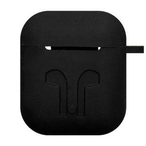 Earpod Hoesjes Case voor Airpod 1 / Airpod 2 – siliconen hoesje – Zwart