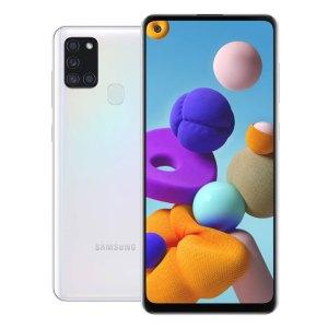 Samsung telefoons Samsung – Galaxy A21S – Dual-Sim – 32GB – Wit