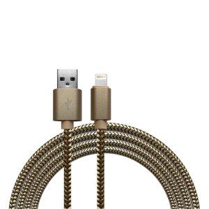 Kabels Khocell – Lightning USB Kabel – 1 meter – Goud