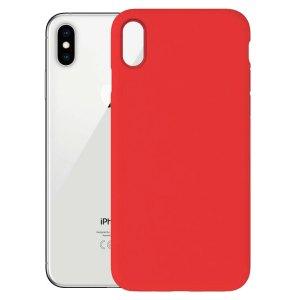 Apple hoesjes Siliconen hoesje voor Apple iPhone XS Max – Rood