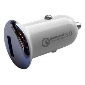 Autoladers Qualcomm – Autolader met 1 USB 2.1A aansluiting – Blauw