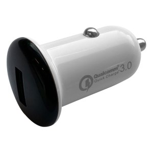 Autoladers Qualcomm – Autolader met 1 USB 2.1A aansluiting – Zwart