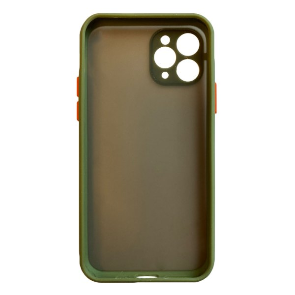 Apple hoesjes My Choice – Siliconen/Hardcase hoesje voor Apple iPhone 11 Pro – Army