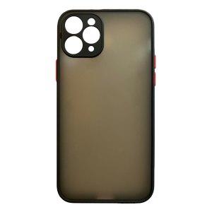 Apple hoesjes My Choice – Siliconen/Hardcase hoesje voor Apple iPhone 11 Pro – Zwart