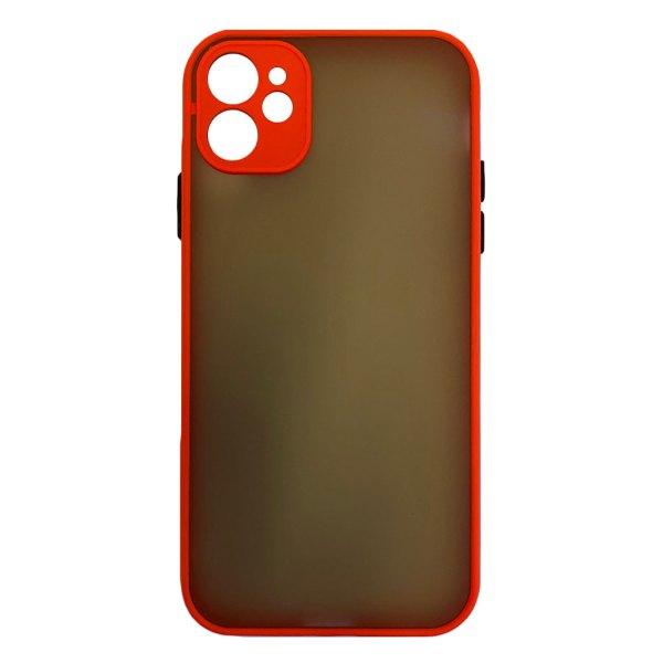 Apple hoesjes My Choice – Siliconen/Hardcase hoesje voor Apple iPhone 12 – Oranje
