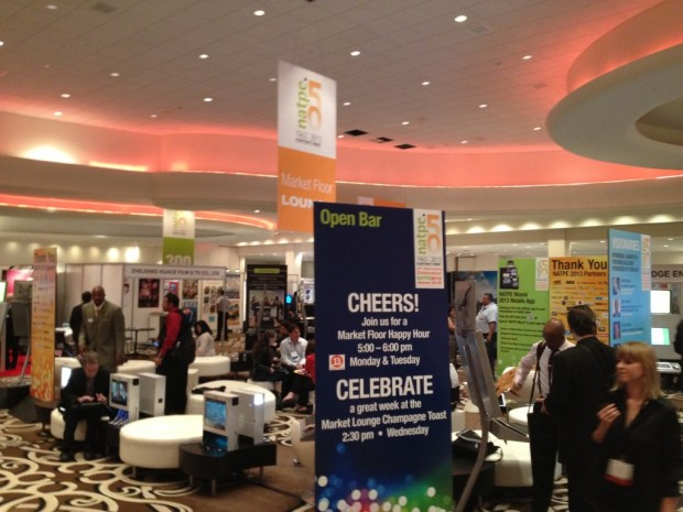 The NATPE Market Floor.