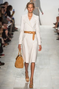 This is one of Michael Kors's looks from his Spring 2014 line. Photo by Yannis Vlamos via Vogue.