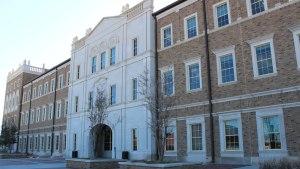 The Jerry S. Rawls College of Business. Jordann Fowler/The Hub@TTU