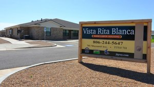 The Vista Rita Blanca complex was created to house farmworkers. Picture provided by the Texas State Affordable Housing Corporation.
