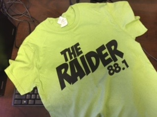 Ricardo Cortez shares one of his favorite free T-shirts from KTXT The Raider 88.1