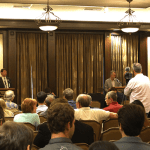 Congressional Runoff Debate at Tech Draws Crowd
