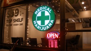 Medical marijuana dispensary. Picture provided by Wikimedia.