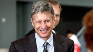 Gary Johnson is the presumptive Libertarian Party nominee. Gage Skidmore/Flickr.