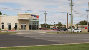 This is the ERCA freestanding ER center located in Lubbock at the intersection of Slide Road and 82nd Street.