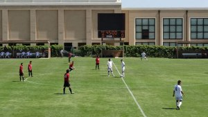 Picture provided by the Texas Tech men's soccer club team.