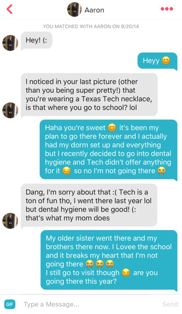 Brother and sister hook up on tinder