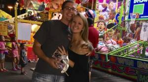Kalie and Aaron at the South Plains Fair. Photo provided by Kalie.