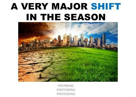 Major Shift!