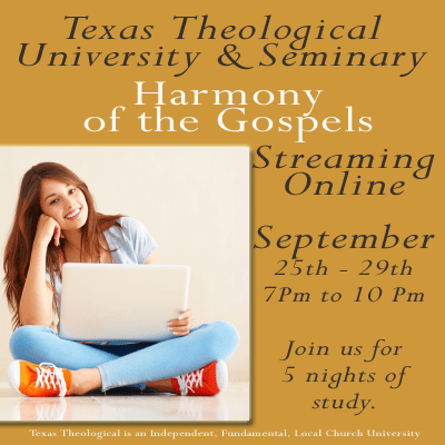 New Live Streaming Course: Harmony of the Gospels