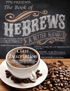 New Live Streaming Course: The Book of Hebrews