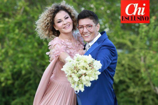Eva Grimaldi sposa Imma Battaglia